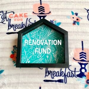 🛠 Renovation Fund Shadow Box Money Saver 🛠